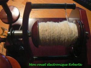 Rouet électronique Roberta